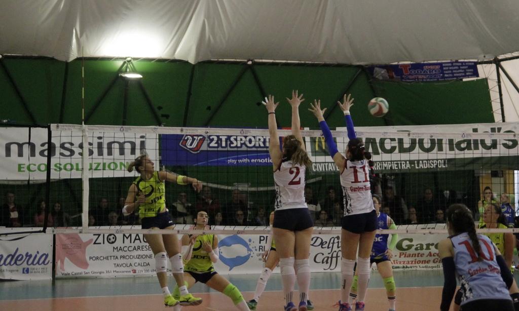 Volley Ladispoli inarrestabile, asfaltata 3-0 anche la
