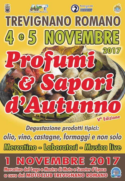 trevignano romano profumi d'autunno