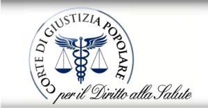 Logo Corte di Giustizia Popolare per il Diritto alla Salute – Fonte: Corte di Giustizia Popolare per il Diritto alla Salute