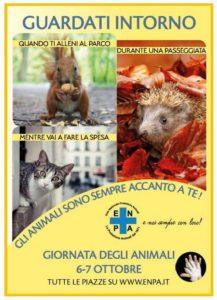 Manifesto della Giornata Nazionale degli Animali (verticale) – Fonte: ENPA