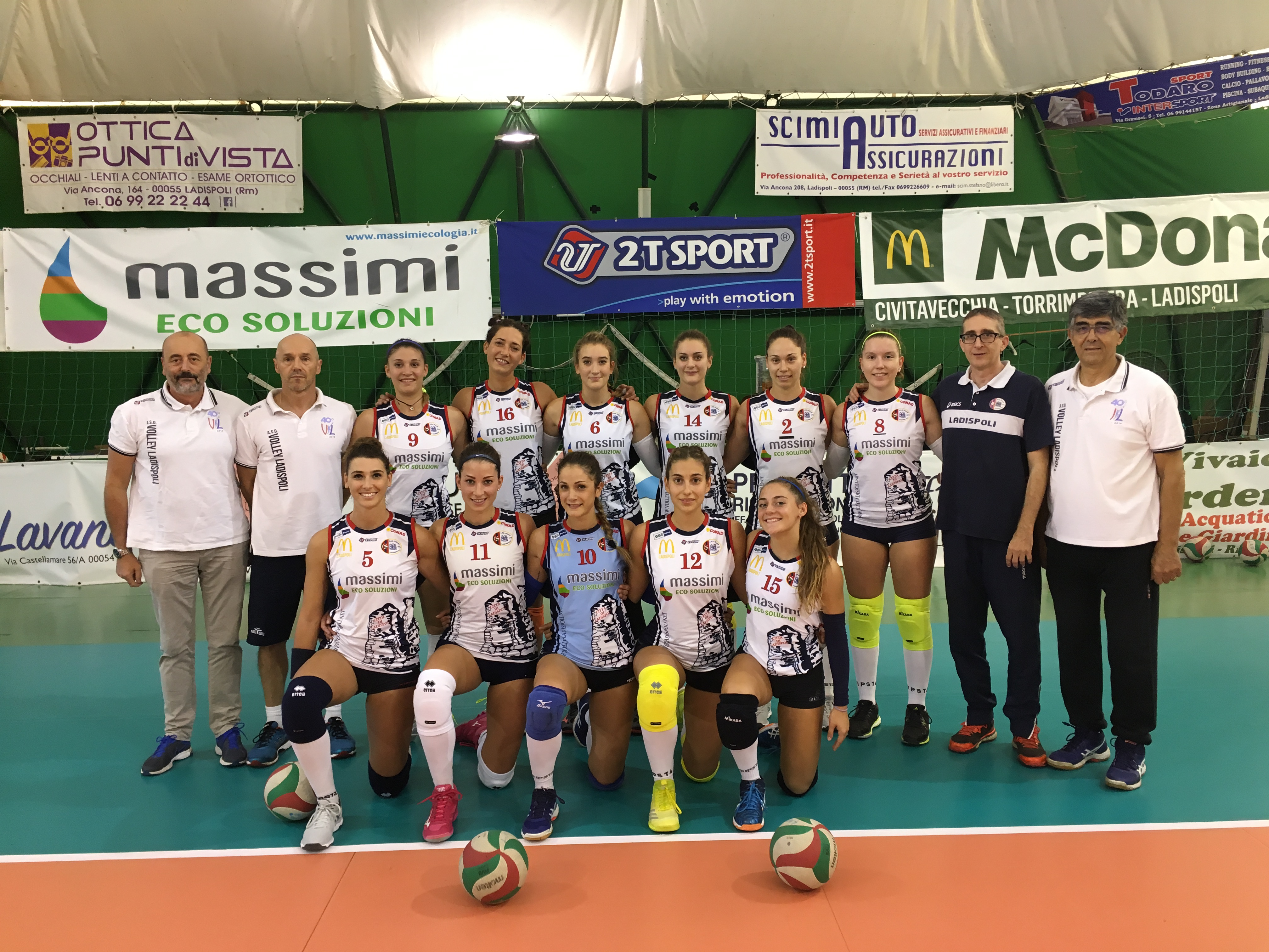 La Virtus Chieti asfalta le ragazze del Volley Ladispoli 3 0