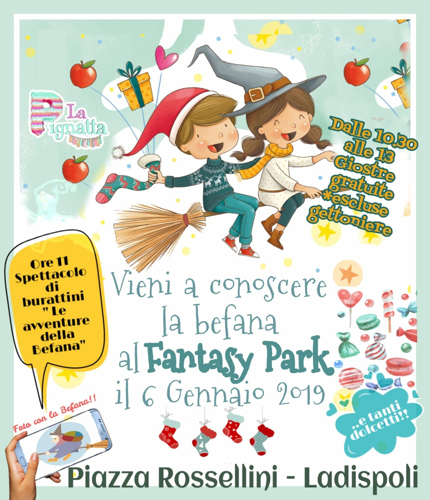 Arriva la Befana all'Ice Park di Ladispoli il 6 gennaio - OrticaWeb