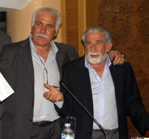 Il maestro d'arte Guido Venanzoni e il Professor Vincenzo Pacelli (1)