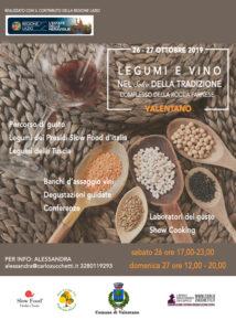 legumi e vini della tradizione
