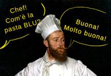 pasta blu