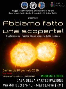 gruppo astrofili ppalidoro