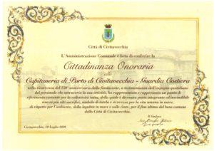 cittadinanza onoraria