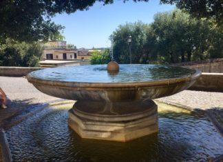 fontana palla di cannone
