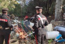 bruciare rifiuti