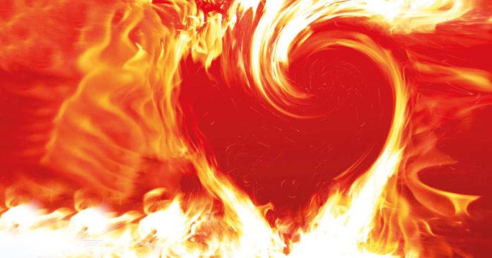 fuoco di cuore